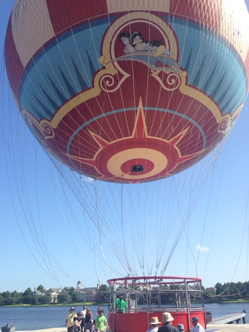 Characters in Flight – Downtown Disney