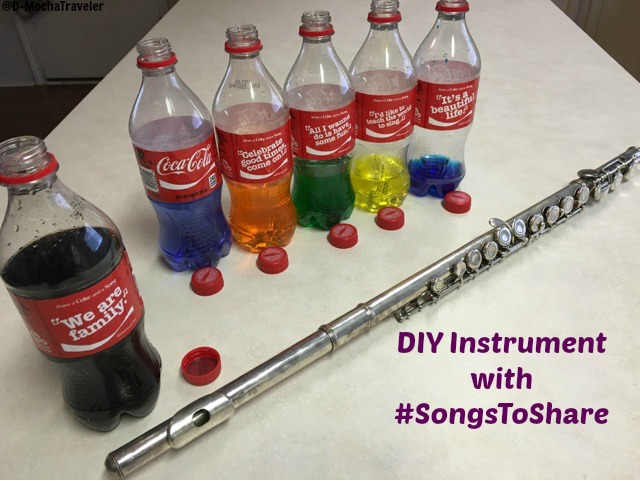 DIY Instrument with #SongsToShare from Brookshire's