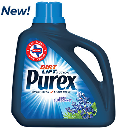 Challenge Accepted….NEW Purex® Fresh Bluebonnet Detergent & Giveaway!