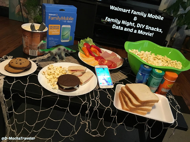 Family Night, DIY Snacks, Data and a Movie!