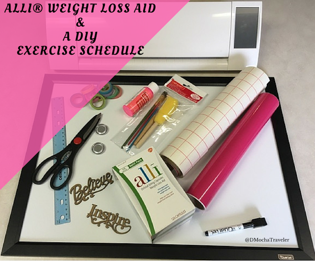 alli® & a DIY Exercise Calendar