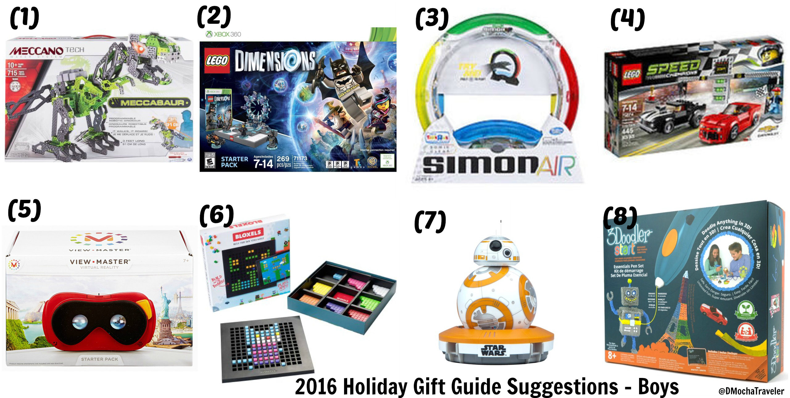 2016 Holiday Gift Guide Suggestions for Boys (Ages 7-10)