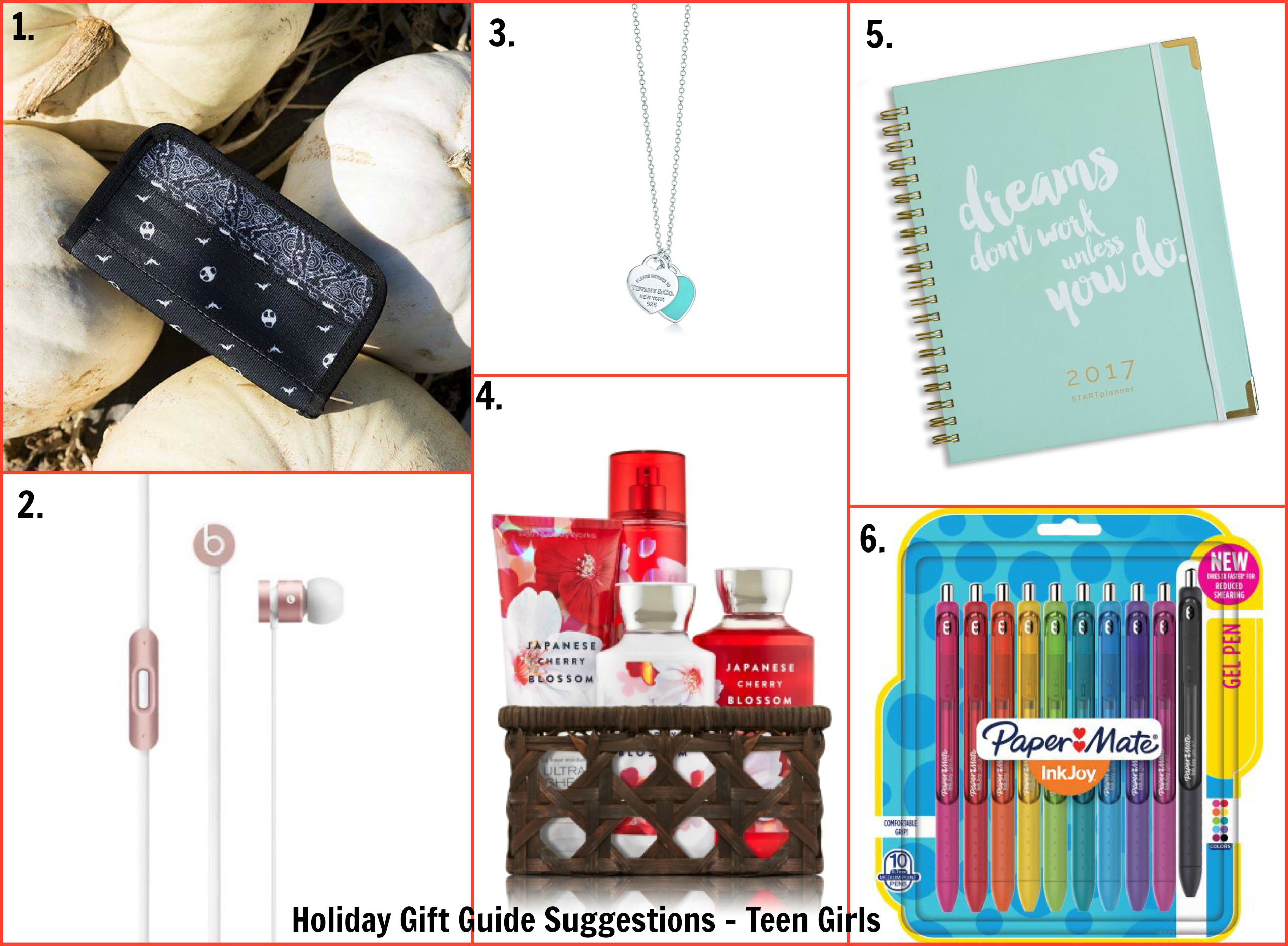 2016 Holiday Gift Guide Suggestions for Teen Girls