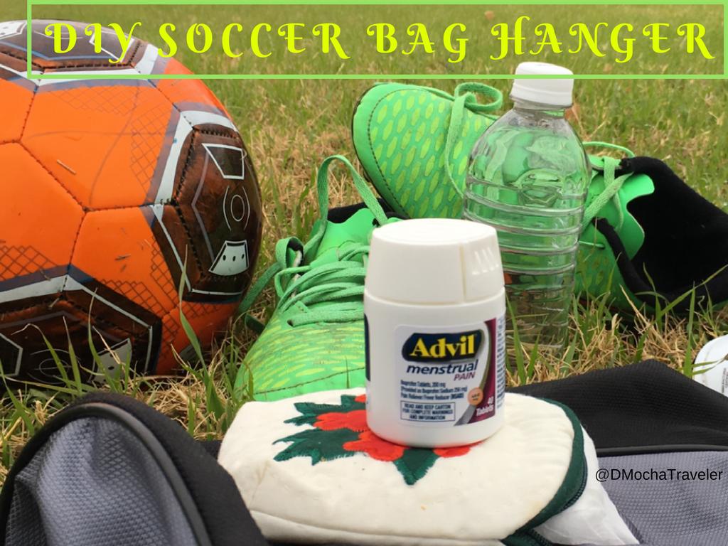 DIY Soccer Bag Hanger – Advil® Menstrual Pain