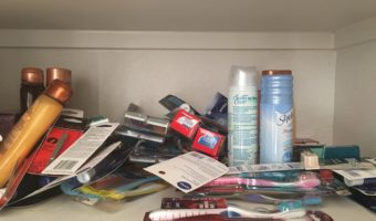 Organize a Shelf in 4 Easy Steps – My Way!