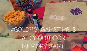 #GoldfishGameTime & A DIY Outdoor Memory Game