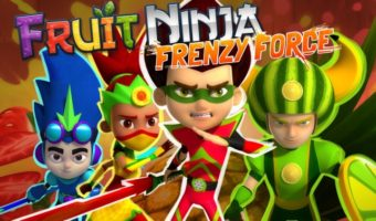 TV Time With My Son & Fruit Ninja: Frenzy Force