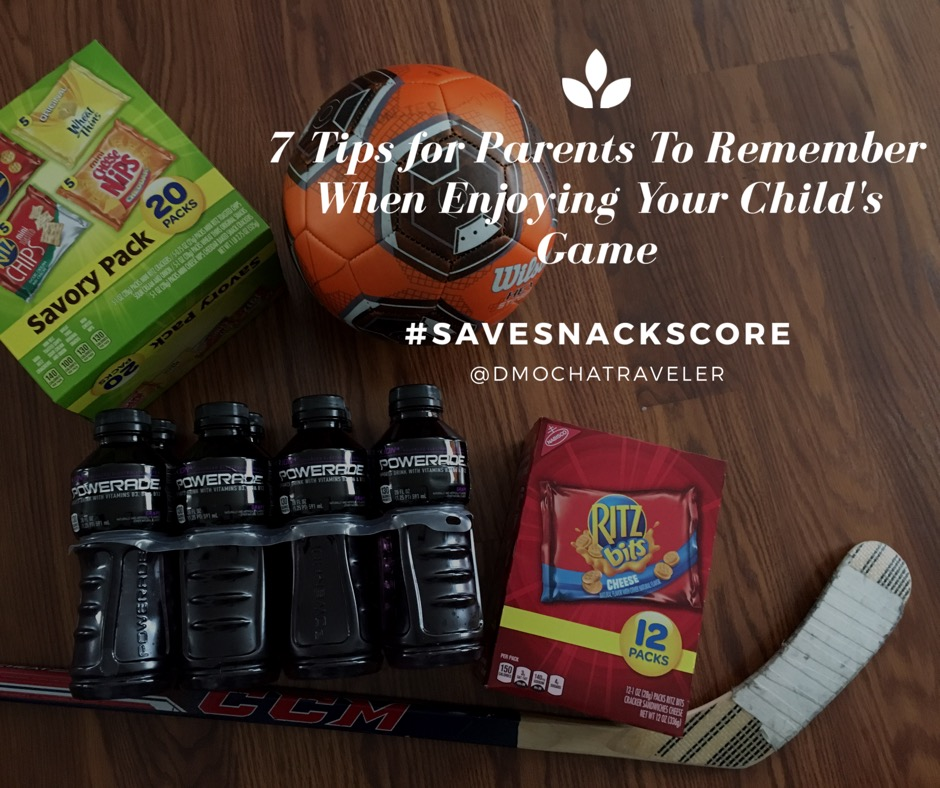 7 Tips for Parents To Remember When Enjoying Your Child's Game