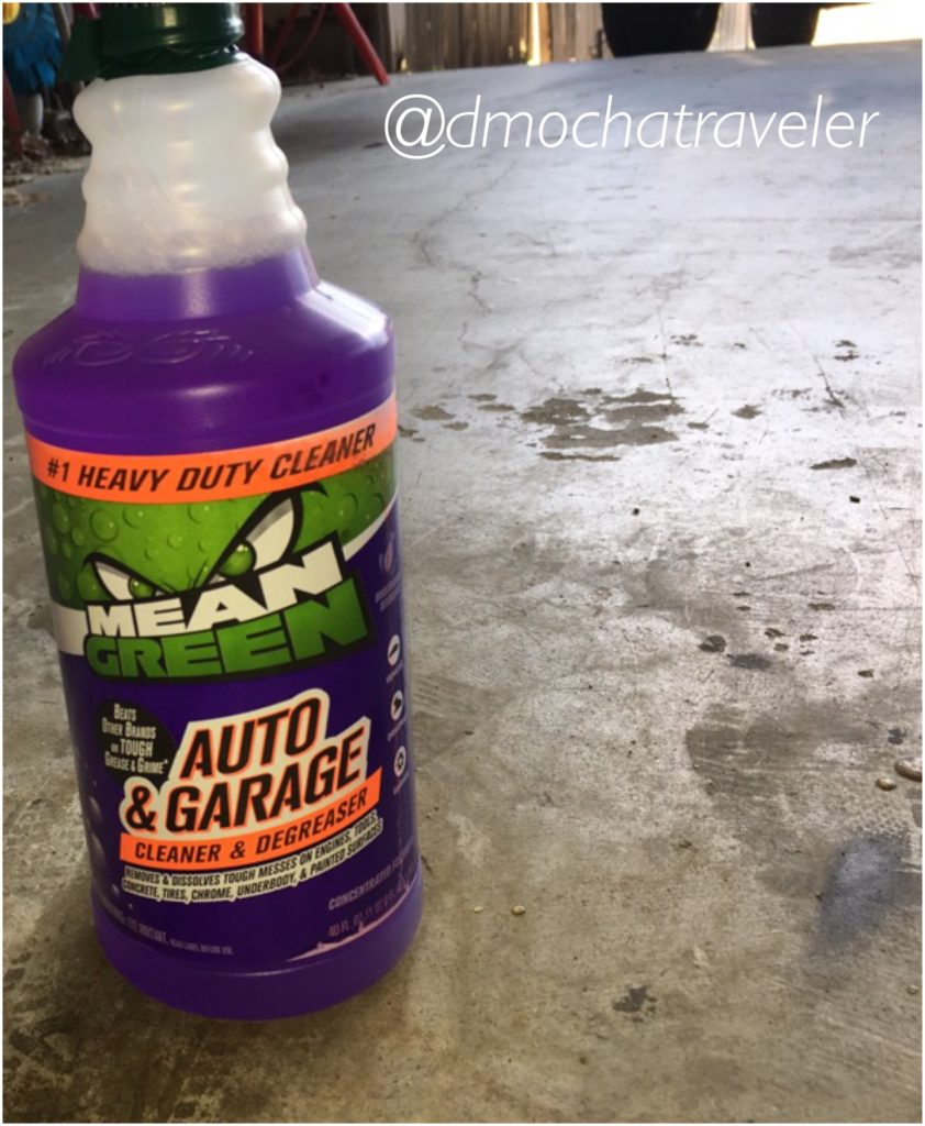 Time to Get The Garage Summer Ready with Mean Green Auto & Garage Cleaner & Degreaser