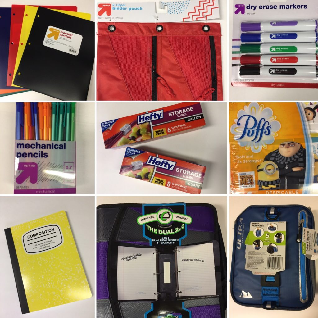 My Top 9 Back-to-School Must-Have School Supplies and A Bonus Supply for Mom!