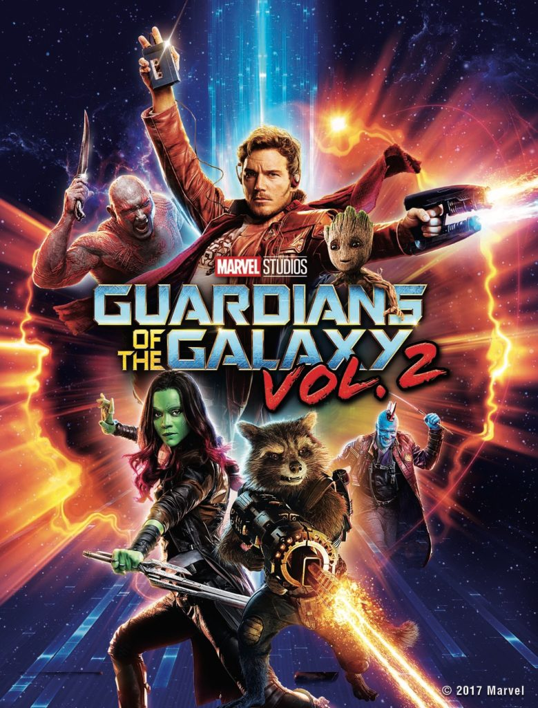 Guardians of The Galaxy Vol. 2 Digital Copy Giveaway!
