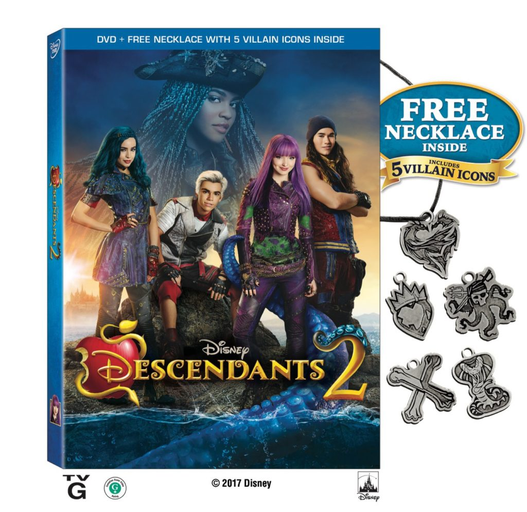Descendants 2 DVD Giveaway!