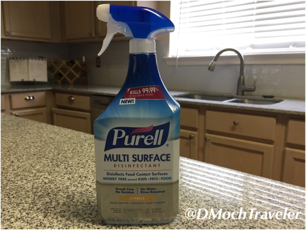 Time to Disinfect my Home With PURELL Multi-Surface Disinfectant