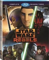 Star Wars Rebels: Complete Season Three DVD Giveaway!!