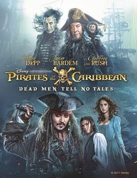 Pirates of the Caribbean: Dead Men Tell No Tales Digital DVD Giveaway!