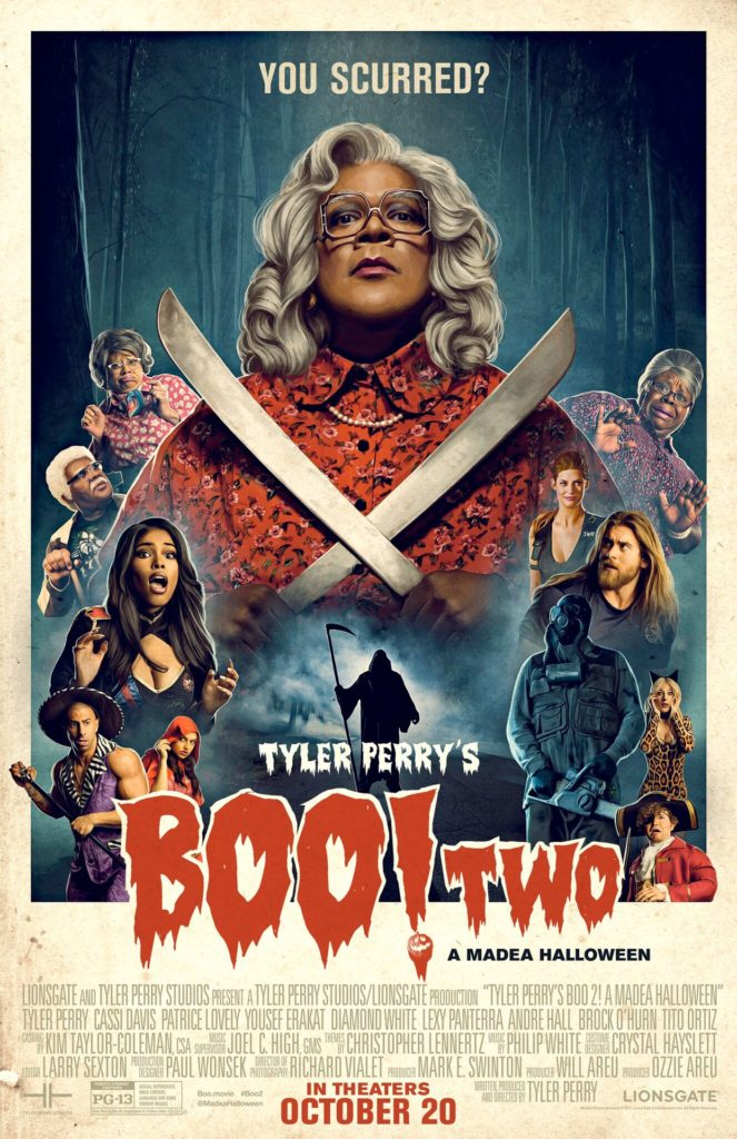 Tyler Perry's Boo 2! A Madea Halloween Swag Giveaway!
