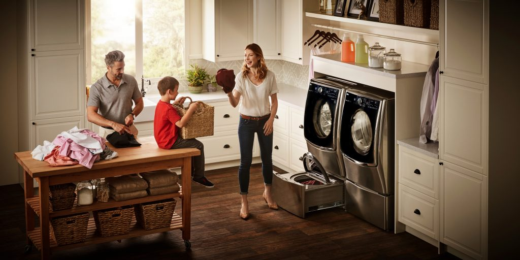 Time to Wash With The LG Twin Wash System at Best Buy!
