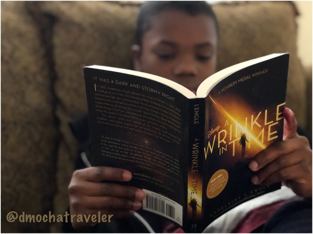 Disney's A Wrinkle In Time Movie & Boys Who Read!