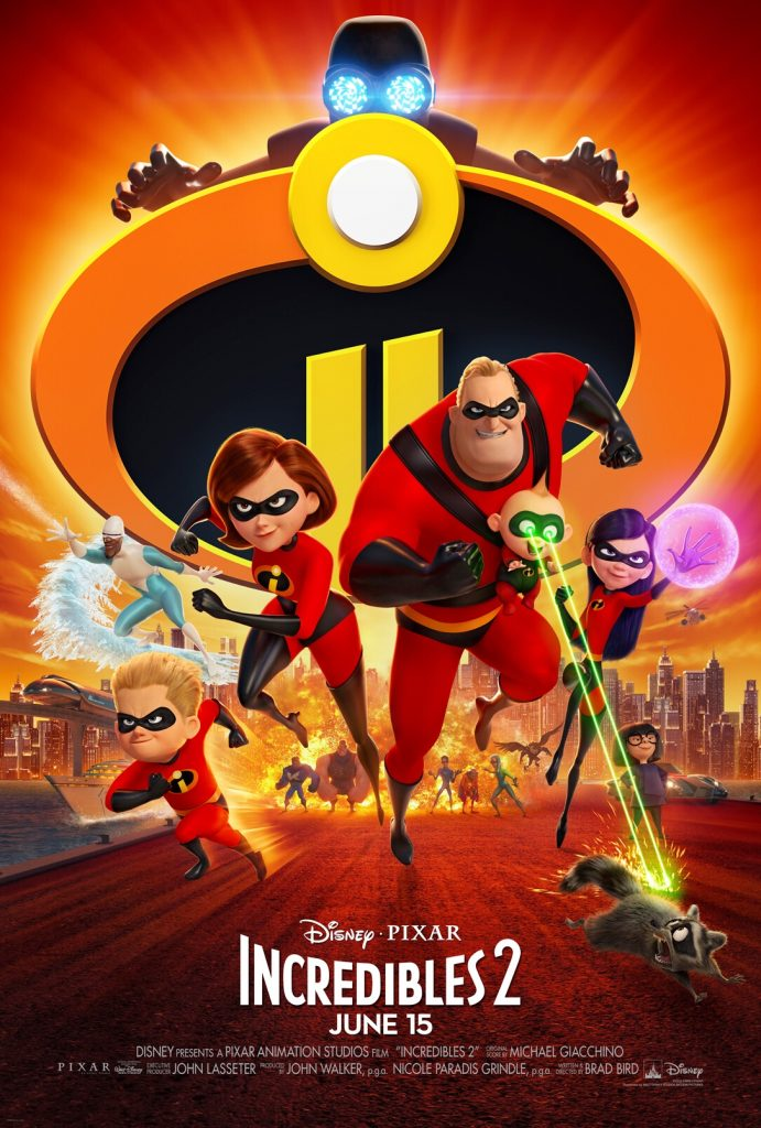 INCREDIBLES 2 – June 15! Will You Be There?