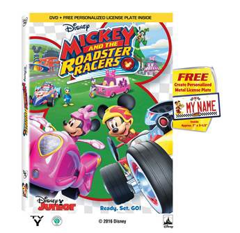 Giveaway Time! Mickey and the Roadster Racers DVD