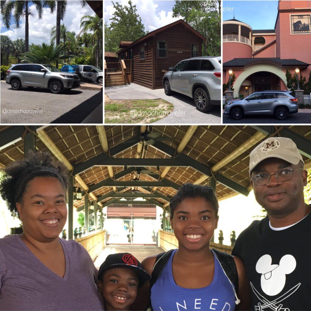 Seven Fun Reasons to Resort Hop Through Universal Orlando and Walt Disney World in the 2017 Toyota Highlander SE