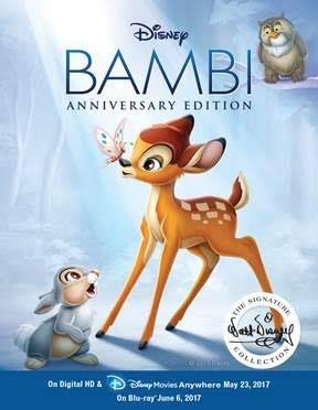 Win One of 3 Disney Bambi Anniversary Edition Digital Copies!