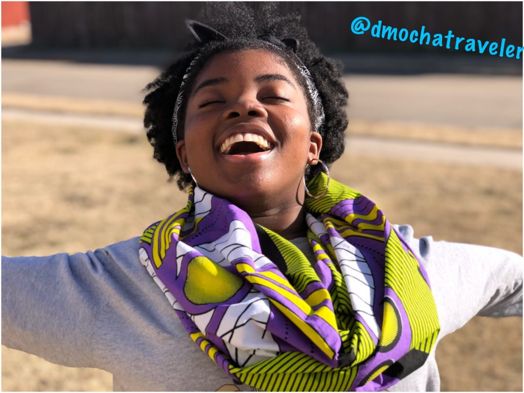 The 30 Day Countdown to Black Panther! Easy Black Panther (Inspired) DIY No-Sew Infinity Scarf!