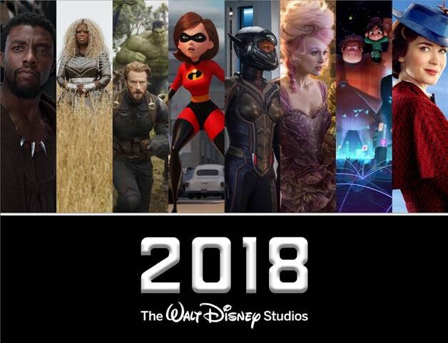 All of The 2018 Walt Disney Studios Motion Picture Release Dates and Information!