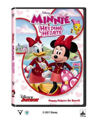 Just in Time for Valentine's Day! MINNIE: HELPING HEARTS Blu-Ray DVD Giveaway! (3 Winners)