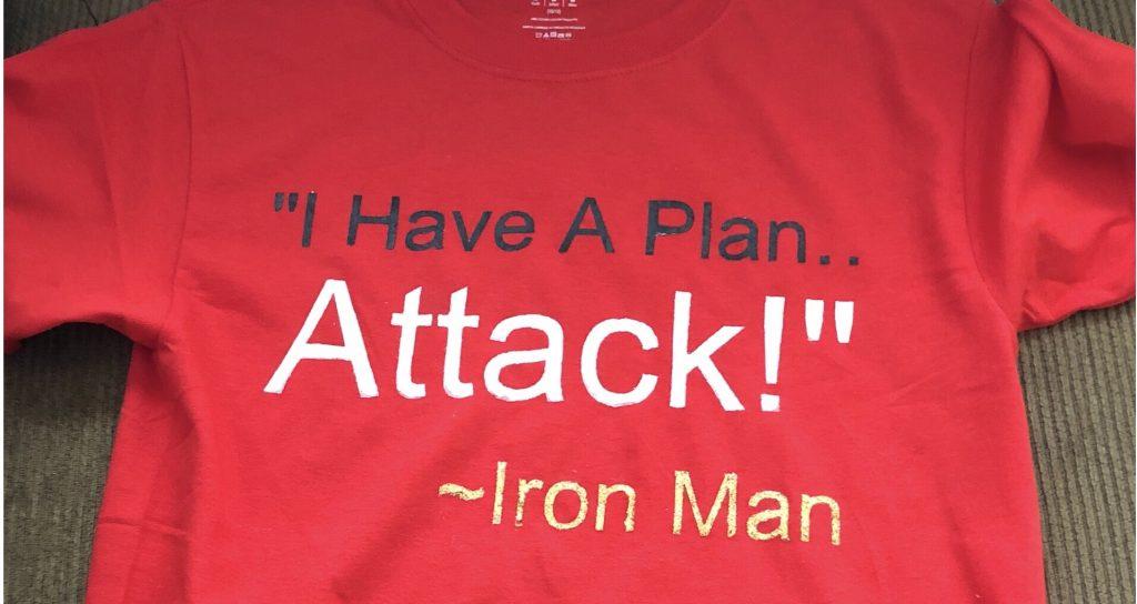 DIY'd Disney (Inspired) Quotes T-Shirts Using Freezer Paper!