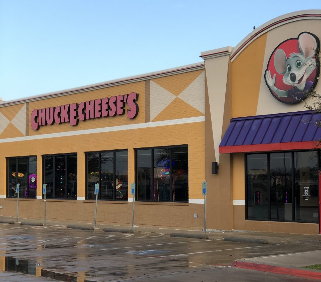 Reasons to D-I-Why A Birthday Party at Chuck E. Cheese's!